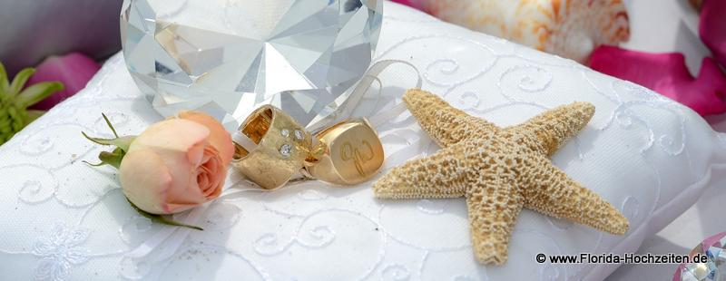 Florida-Hochzeiten Erneuerung des Ehegeloebnisses