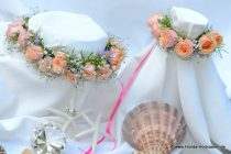 Blumenkranz und passendes Armband