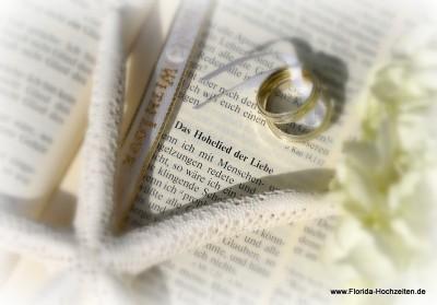 Florida-Hochzeiten Christlich verbunden mit einem Segen