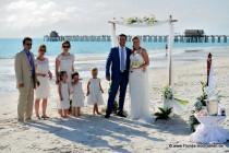 Florida-Hochzeiten an Naples' Traumstrand