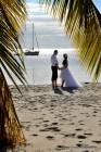 Florida-Hochzeiten Erneuerung des Ehegeloebnisses unter Palmen