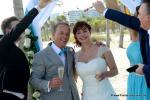 Heiraten in Florida mit Florida Hochzeiten auf Key Biscayne mit grosser Hochzeitsgesellschaft