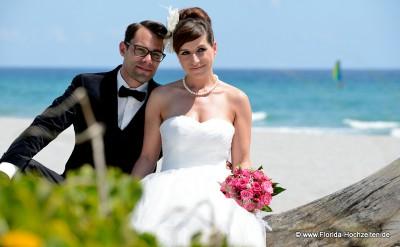 Just married mit Florida-Hochzeiten